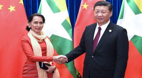 Myanmar dan China Tandatangani 33 Kesepakatan