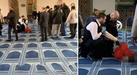 Pria Bersenjata Tikam Mu'adzin di Masjid London