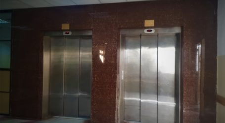 Pembangunan RSI di Gaza Masuki Tahap Pemasangan Lift