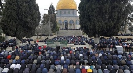50 Ribu Jamaah Salat Jumat di Masjid Al-Aqsa