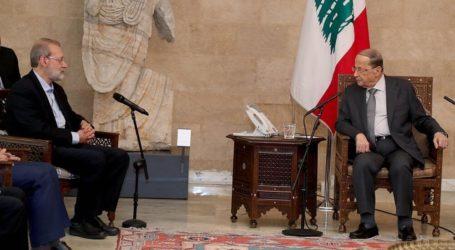 Larijani: Iran Siap Bantu Pemulihan Ekonomi Lebanon