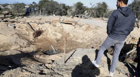 Roket Gaza Menyerang, Benny Gantz Adakan Pertemuan di Tempat Perlindungan Bom