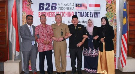 Pertemuan B2B Produk Halal Unggulan Indonesia-Malaysia 2020 Digelar di Bandung