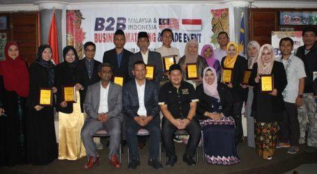 Pertemuan B2B di Kadin Bandung Hadirkan 10 Pengusaha Produk Halal Unggulan Malaysia