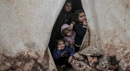 Bayi Sekarat Kedinginan di Tengah Konflik Idlib Suriah