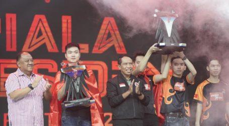 Menpora Tutup Final Piala Presiden Esport 2020