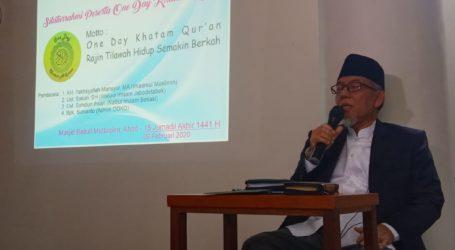 Kopdar One Day Khatam Quran Giat Istimewa Rajut Silaturahim dan Perbaiki Bacaan Al-Quran