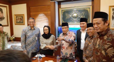 Menlu Retno Ketemu PB NU: Indonesia Konsisten Dukung Perjuangan Palestina