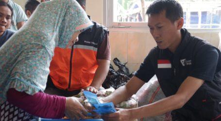 LKC DD dan Bakrie Amanah Adakan Pengobatan Gratis untuk Pengungsi Sukajaya