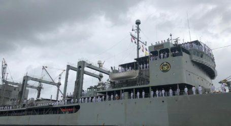 Rayakan 70 Tahun Hubungan Diplomatik, Kapal Kharg Iran Kunjungi Jakarta