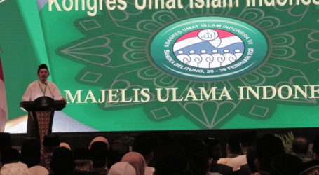 Tujuh Bidang yang Dibahas pada Kongres Umat Islam Indonesia VII