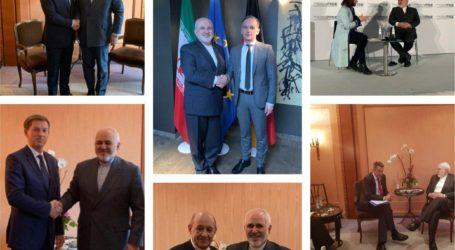 Pertemuan Zarif dengan Senator AS Bagian Diplomasi Umum Iran