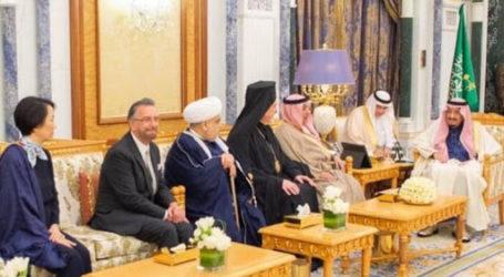 Raja Salman Terima Rabi Yahudi di Istana