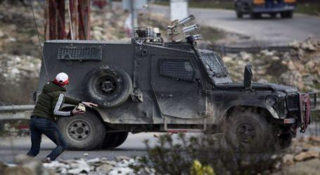 Warga Palestina dan Keamanan Israel Bentrok di 22 Lokasi