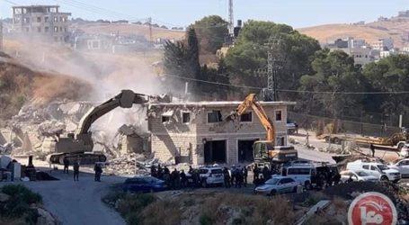 Israel Perintahkan Warga Palestina di Wadi Homs Bongkar Bangunannya