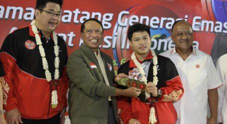 Indonesia Raih 16 Medali Emas pada Kejuaraan Angkat Besi Asia Remaja dan Junior 2020 di Uzbekistan