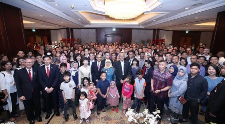 Halimah Yacob Dorong Komunitas Bisnis Singapura Eksplorasi Kemitraaan Baru