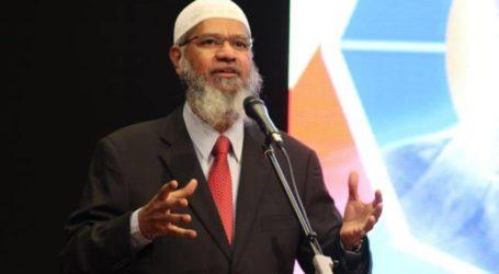 Zakir Naik Serukan Pemimpin Muslim Dunia Bela Muslim India