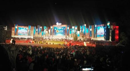 Sebanyak 800 Drone Meriahkan Lantern Festival di Taiwan 2020