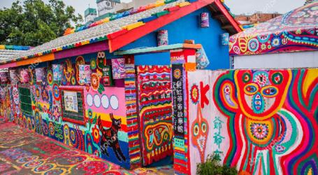 Menyusuri Kampung Pelangi Taichung yang Memikat Hati (catatan perjalanan wisata ke Taiwan)
