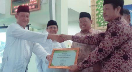 Masjid Baitul Ma'muur Jadi Masjid Pertama Terapkan Konsep Ramah Lingkungan di Kabupaten Bekasi