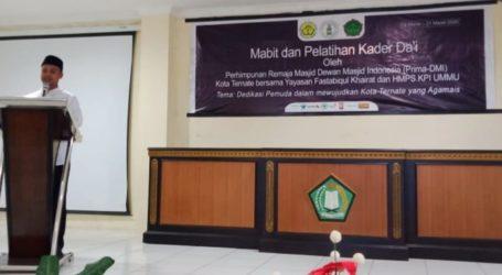 Prima DMI dan Syubban Ternate Gelar Mabit dan Pelatihan Kader Dai