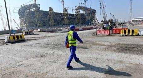 Pekerja Konstruksi Migran di Qatar Bekerja Tanpa Perlindungan dari COVID-19