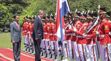 Presiden Jokowi Terima Kunjungan Raja dan Ratu Belanda di Istana Bogor