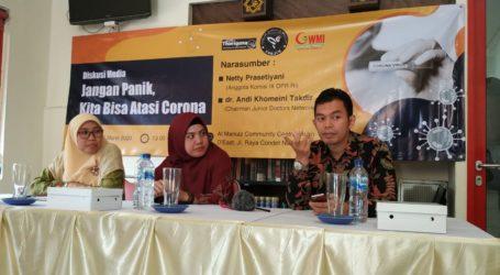 Forjim Gelar Diskusi 'Jangan Panik Kita Bisa Atasi Corona'