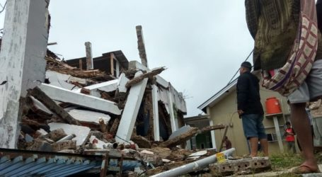 Sukabumi Diguncang Gempa Dua Kali, Sejumlah Bangunan Rusak Berat