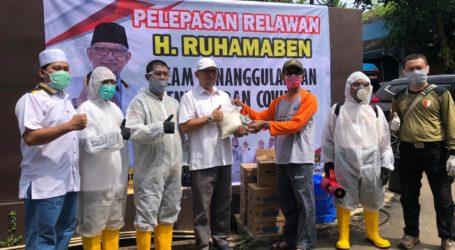 Tim Relawan Penanggulangan Virus Corona Tangsel Diresmikan