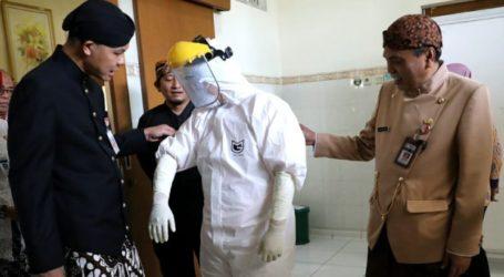 Ganjar:  Jateng Terus Tingkatkan Pencegahan Penularan Virus Corona