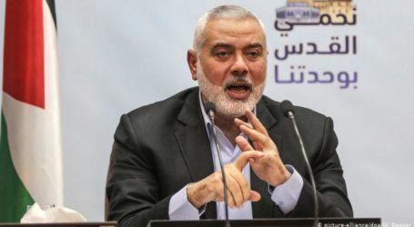 Haniyeh Minta Raja Saudi Bebaskan Tahanan Palestina