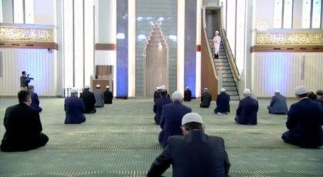 Masjid Kompleks Kepresiden Turki, Satu-Satunya yang Selenggarakan Salat Jumat