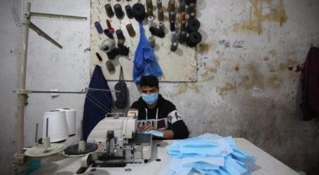 Gaza Produksi Masker untuk Eropa