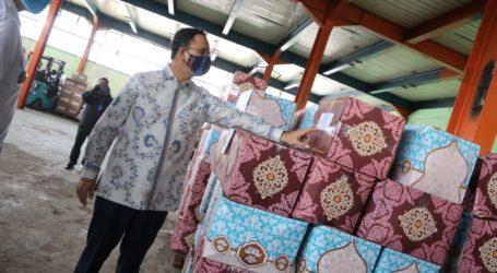 Pemprov DKI Siapkan 20 Juta Masker Kain untuk Warga Jakarta
