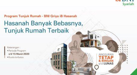 BNI Syariah Permudah Milenial Miliki Hunian Lewat Program Tunjuk Rumah