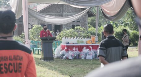 Desa di Lampung Inisiasi Gerakan 10.000 Masker Bagi Warga
