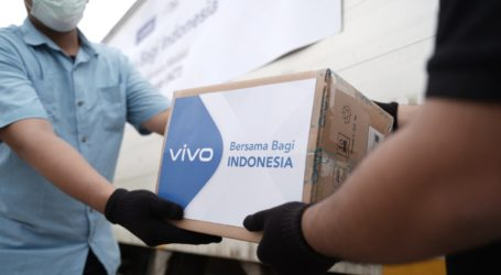 Vivo Indonesia Bantu 150 Ribu Masker Melalui ACT