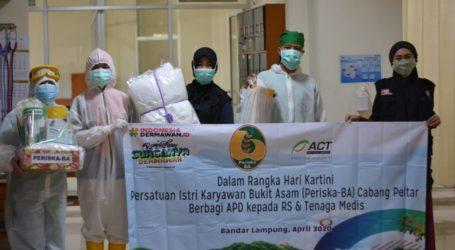 Periska-BA dan ACT Lampung Salurkan Bantuan untuk Tiga RS Rujukan