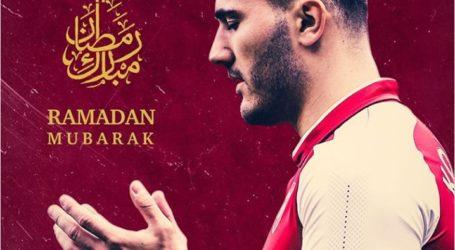 Pesepak Bola Muslim Arsenal Sambut Bulan Suci Ramadhan