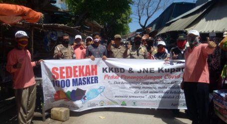 "KKBD Kupang Gelar Aksi ""Sedekah 1.000 Masker"""