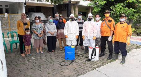 Giat SATGAS-C19 UAR Jabodetabek Semprot Disinfektan