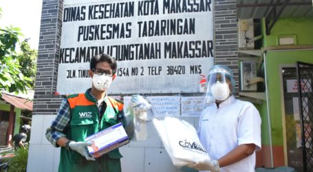 Wahdah Islamiyah Bantu APDuntuk Puskesmas Tabaringan, Makassar