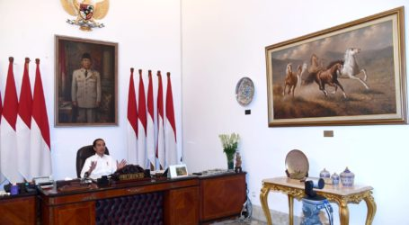 Jokowi Minta Pelaksanaan PSBB Dievaluasi Total