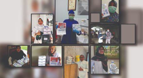 LPPOM MUI Sumbang Masker, Hand Sanitizer ke RSUD Bogor