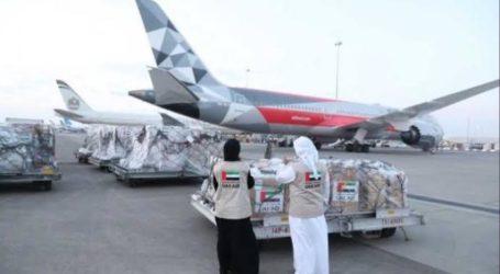 UEA Kirim Bantuan Medis Penanganan COVID-19 ke Indonesia