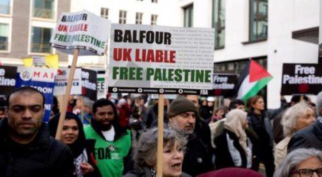 """Kemenangan """"Legal dan Historis"""" Kampanye Solidaritas Palestina di Inggris"""