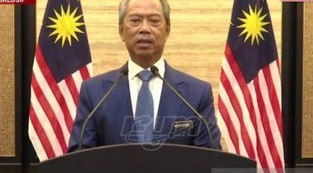 PM dan Menteri-Menteri Malaysia Sumbang Dua Bulan Gaji untuk Tabung Covid-19