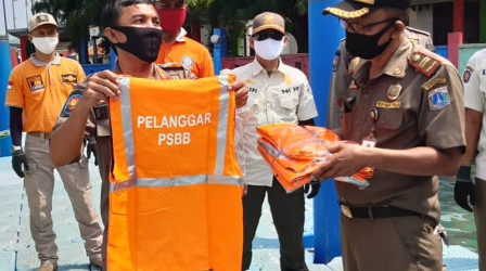 Sanksi Pelanggaran PSBB Mulai Diterapkan di Kepulauan Seribu